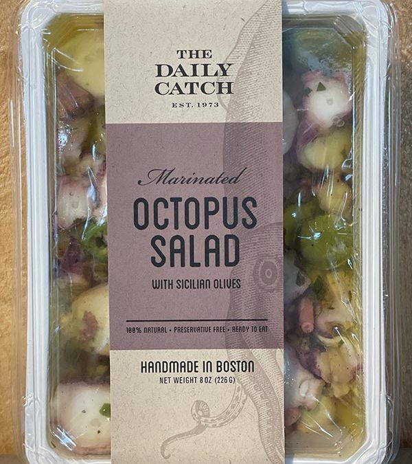 Octopus Salad (8oz)-25% off