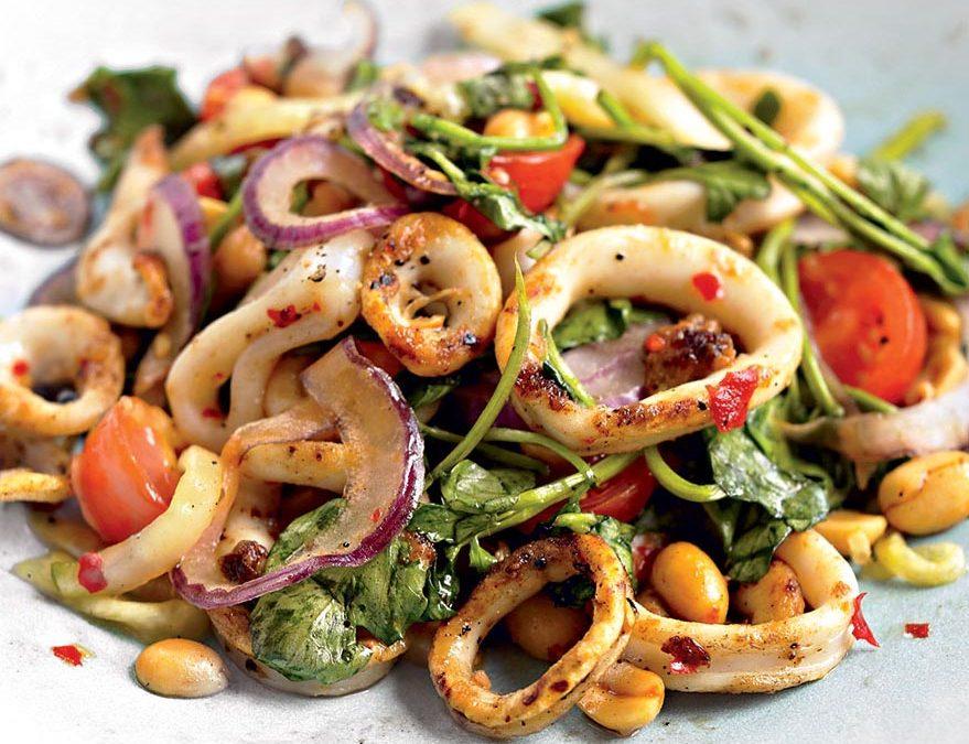 Calamari Salad (8oz)