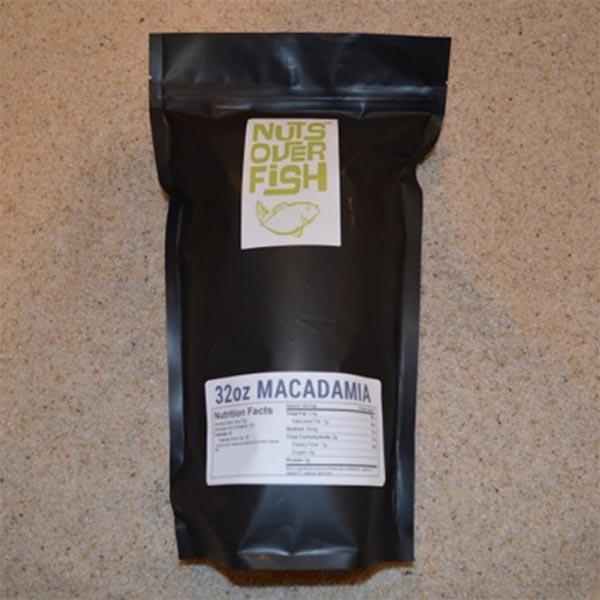 """NUTS OVER FISH"" Macadamia"